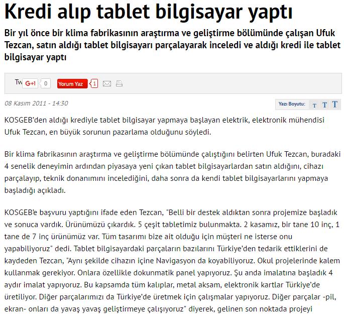 Jedi Tablet Haber posta.com.tr